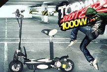 """Elektromos Roller """"Tornado"""" / Kiszámoltad már, mennyit költesz üzemanyagra a belvárosi dugóban araszolva? Nincs kedved / időd a tömegközlekedéshez? Túl fáradt vagy tekerni a biciklit? Akkor az elektromos rollert Neked találták ki! Itt elolvashatod, hogyan könnyítheti meg a Te hétköznapjaidat is: http://www.importdiszkont.com/blog_2/hogyan_teheti_konnyebbe_az_on_mindennapjait_egy_elektromos_roller_23"""