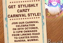 Get  Stylishly Carzy Carnival Style!