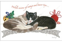 Pipsqueak Productions Cat Holiday / Holiday Cards and Gifts for Cat Lovers