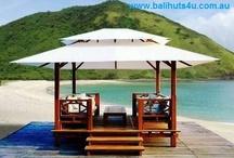 balanese huts