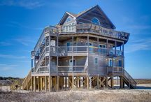 Rodanthe Vacation Rentals / Outer Banks Vacation rentals located in the village of Rodanthe on Hatteras Island, North Carolina. Take a look and book online or call 800.627.1850 today! / by Outer Beaches Realty