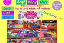 Toddles Playground Soft Play Hire / The best entertainment for toddlers parties!