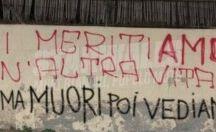 scritte nei muri