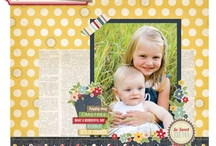 Scrapbook Pages / by Whitney Ulsas