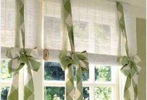 Záclony, závěsy - Curtains / Záclony, záclony - Curtains