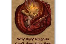 Dragons / by Hand Critters