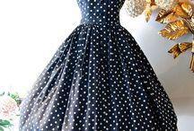 vestidos vintage 40'