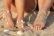 Beach Wedding / Jewelry for a beach wedding