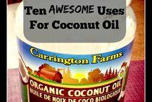 {Health}~ Coconut oil