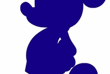 Disney Silhouettes / Silhouettes of Disney characters
