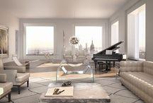 Modern Muted NYC Penthouse Apt