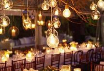 Woodland Wedding Style / Natural, romantic, relaxed and informal; bringing the outside insid.e