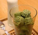 Think outside the cup: Culinary Creation with Matcha / Matcha is a miracle!  It will transform your usual dishes or drinks into masterpieces with prodigious health benefits.