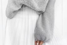 Sweaters with BIG sleeves