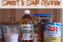 Crockpot sweet & sour Chicken