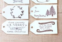 Gift tags & Gift wrapping