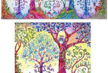Lovely Images From Johanna Basford's art