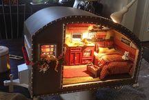 miniature caravan