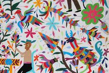 Otomi embroidery