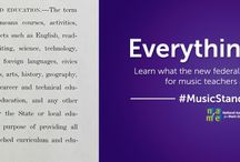 Music Education Advocacy / Find great resources and talking points to advocate for music education in schools!