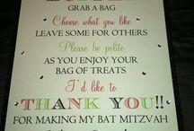 Other bat mitzvah ideas