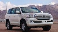 2016 Toyota Land Cruiser 200 series