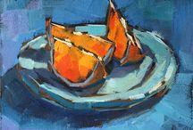Still Life blue&orange