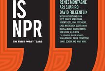 NPR Talks / Some inspirational NPR material | Radio Personalities  / by Martha Woodroof