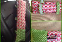 Almofadas para cinto de segurança