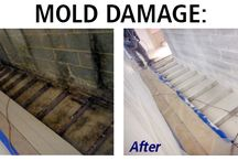Before and After / Before and After Fire, Smoke, Water, Mold and Sewage Damage
