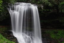 WATERFALLS near Pisgah Forest / by CJC PAM MRA