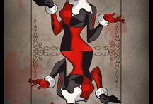 Harley Quinn..ish! / Harley Quinn art/pictures where the picture's not quite right...  ;-)