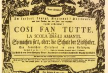 Così fan tutte / Opera is an Italian-language opera buffa in two acts by Wolfgang Amadeus Mozart first performed on 26 January 1790, at the Wiener Burgtheater in Vienna, Austria.