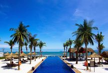 Hoi An Beach Resort, Hoi An City, Vietnam / A 4 star beach resort located at Cui Dai Beach of East Sea in middle between beach and river. 121 rooms, suitable for family holiday, honeymoon, leisure and MICE business with meeting from from 20 persons up to 450 persons capacity.
