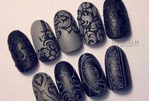 manicure ανάγλυφο