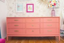 Inspiração - DIY Mobília de Quarto de Criança