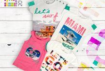 Kolekcja LET'S SURF / Propozycja koszulek dla dziewczynki z kolekcji LET'S SURF