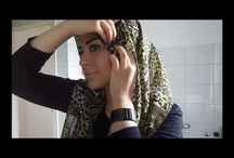 hijab tutorial video on the go
