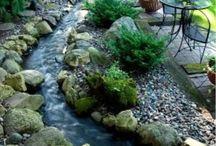 streams/fountains