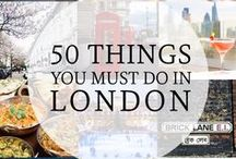 50 places in london
