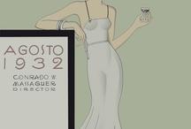 Art Deco Inspiration / Gorgeous deco design for wedding inspiration, general inspiration or simple aesthetic enjoyment!