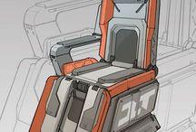 scifi seat