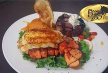 Seafood & Steak-Near Aqua Resort-Panama City Beach,FL, / Local Seafood-Great Aged Steaks-Wild Game -Prime Rib and always something New. Visit the Boar's Head Tonight!