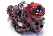 Creature Pipes / Creature Pipes made by Kravin Glass