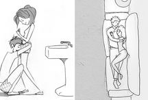This artist makes heart-warming illustrations for every day he spends with his beloved wife