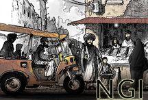 NGI Environmental Storyboards