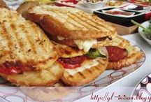sandviçler / tostlar