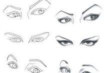Drawing - eyes