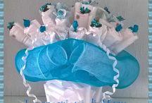 Bouquet di pannolini - Diaper bouquet