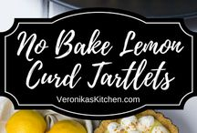 Tartlets lemon curd